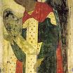 Иконостас Успенского собора во Владимире. Архангел Гавриил. 1408. Андрей Рублёв.jpg